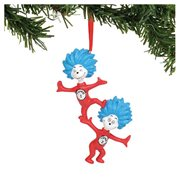 Dr. Seuss Thing One and Thing Two Ornament