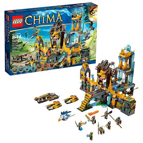 LEGO Legends of Chima 70010 The Lion CHI Temple