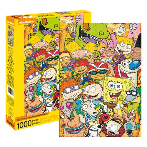 Nickelodeon Cast 1,000 Piece Puzzle