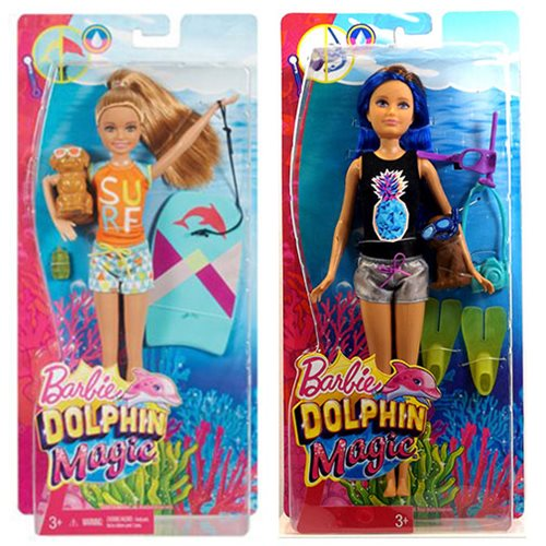 Barbie Dolphin Magic Sister Dolls Case