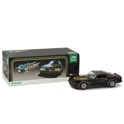 Smokey and the Bandit 1977 Pontiac Firebird Trans Am Artisan Collection 1:18 Scale Die-Cast Metal Vehicle