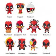 Deadpool Series 3 3-D Figural Key Chain Random 6-Pack