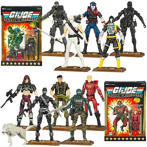 G.I. Joe Action Figures: Hall of Heroes Case