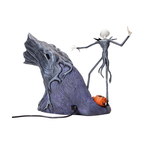 Nightmare Before Christmas Levitation Zero and Jack Skellington Grand Jester Studio Statue
