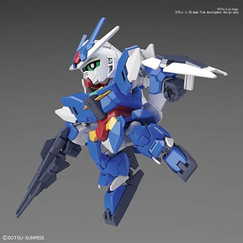 Gundam Build Divers #15 Earthree Gundam SDCS Model Kit