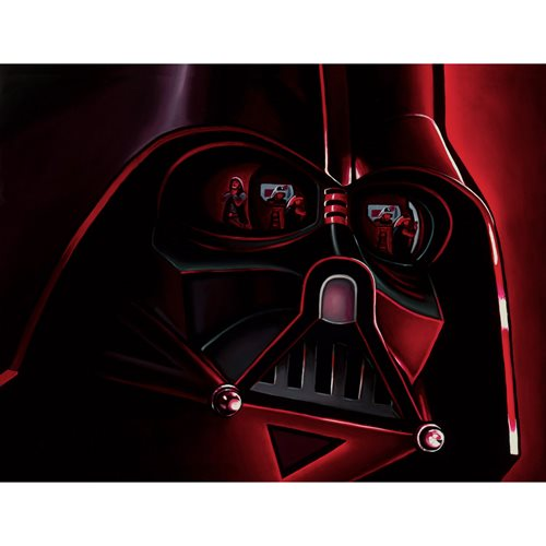 Star Wars Rogue One Lord Vader by Christian Waggoner Canvas Giclee Art Print