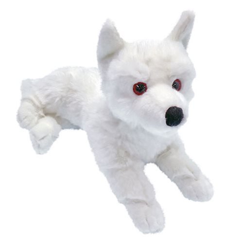 Game of Thrones Ghost Dire Wolf Prone Cub Large Plush