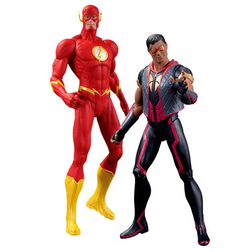 75b936799d7 New 52 The Flash and Vibe 2-Pack Action Figures - Entertainment Earth