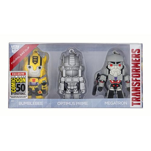 Transformers Bag Clip 3-Pack - San Diego Comic-Con 2019 Exclusive
