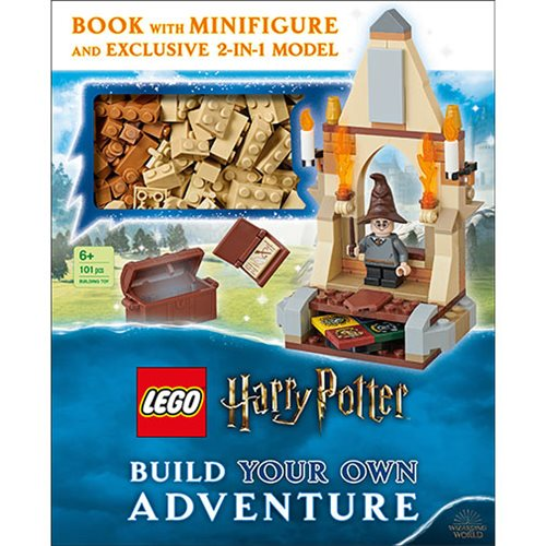 LEGO Harry Potter Build Your Own Adventure Hardcover Book