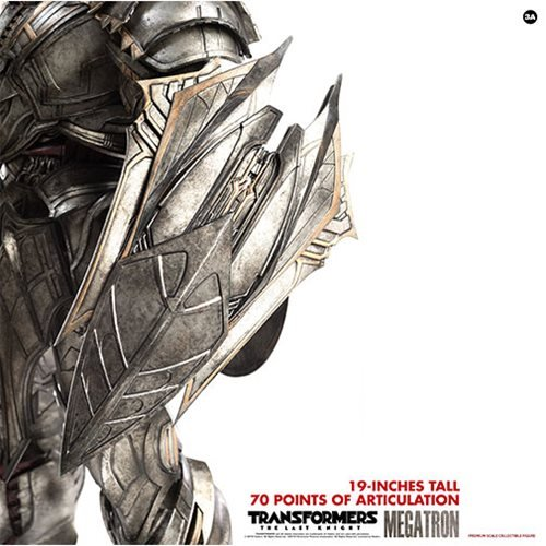 Transformers: The Last Knight Megatron Deluxe Version 1:6 Scale Action Figure