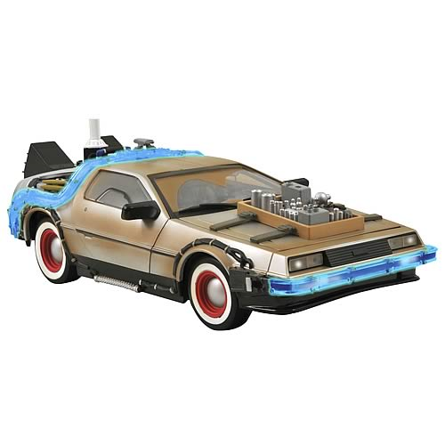 Back to the Future Part III DeLorean Vehicle
