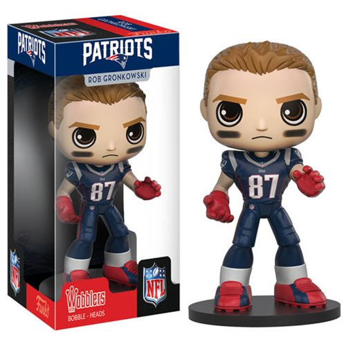 NFL Rob Gronkowski Bobble Head, Not Mint