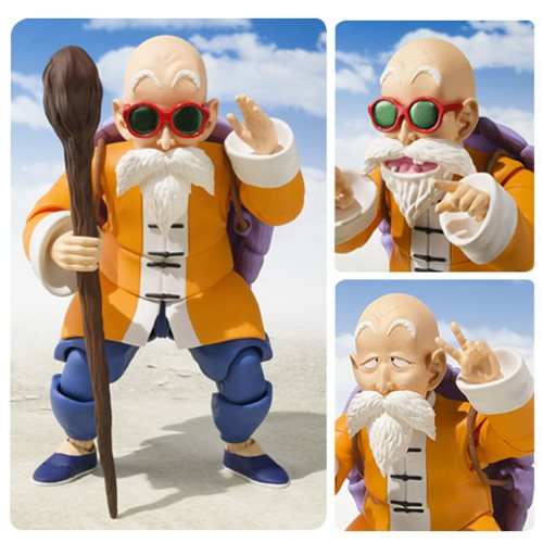 Dragon Ball Master Roshi SH Figuarts Action Figure