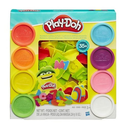 Play-Doh Numbers, Letters, and Fun