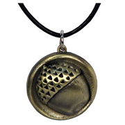 The Hobbit Bilbo Baggins Acorn Button Pendant