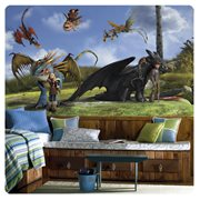 How to Train Your Dragon XL Chair Rail Prepasted Mural