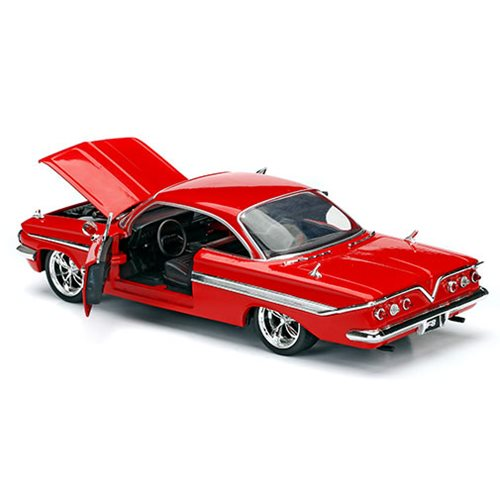 Fast and the Furious 8 Dom's Chevy Impala 1:24 Scale Die-Cast Metal Vehicle