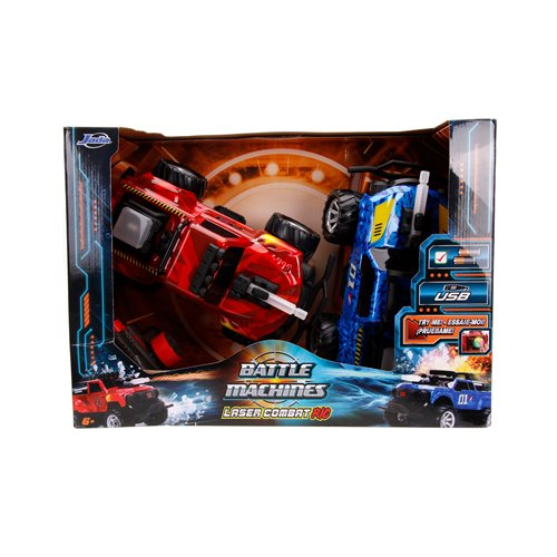 Hyper Chargers Battle Machines 2-Pack RC Vehicles