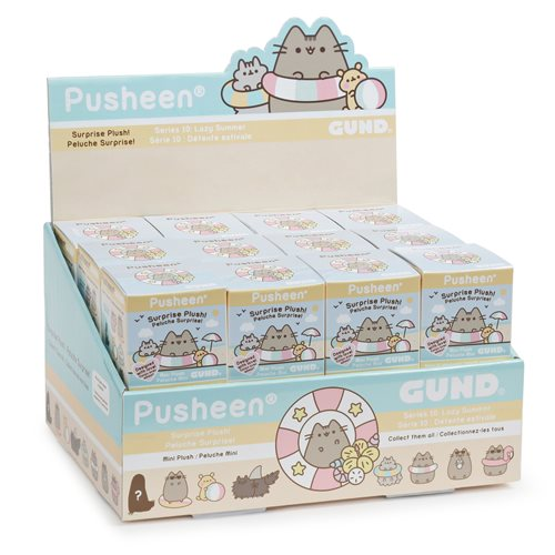 Pusheen the Cat Blind Box Series 10 Plush Display Box