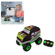 Monster Jam Grave Digger Plush Remote Control Soft Body Monster Truck