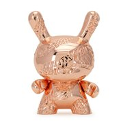 New Money by Tristan Eaton 5-Inch Rose Gold Metal Dunny Figure