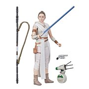 Star Wars The Black Series The Rise of Skywalker Rey and D-O 6-Inch Action Figures