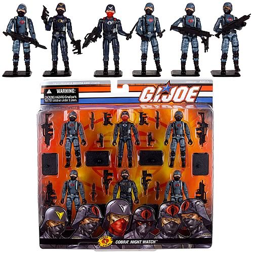 G.I. Joe Cobra Night Watch Action Figure Set
