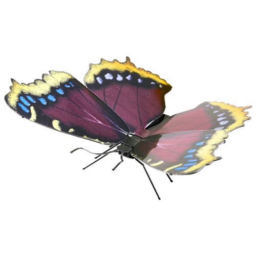Mourning Cloack Butterfly Metal Earth Model Kit