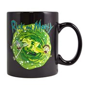 Rick and Morty Heat Changing Schrodinger's Cat Mug