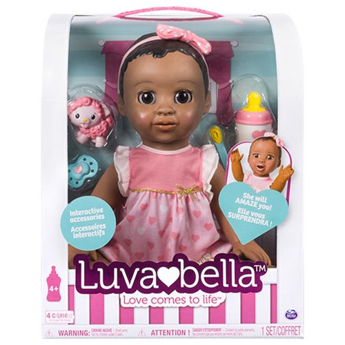 Luvabella Dark Brown Hair Girl Baby Doll