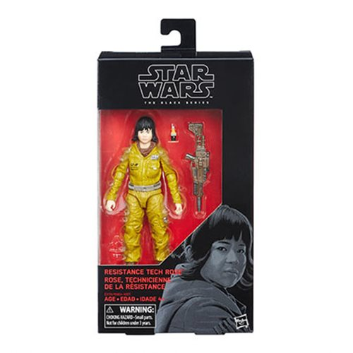Star Wars The Black Series Resistance Tech Rose 6-Inch Action Figure Case of 12