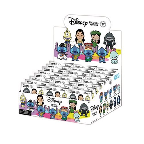 Lilo & Stitch Series 2 3D Figural Key Chain Display Case