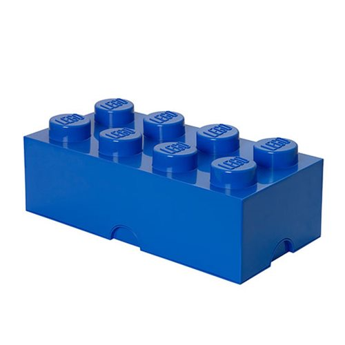 LEGO Bright Blue Storage Brick 8