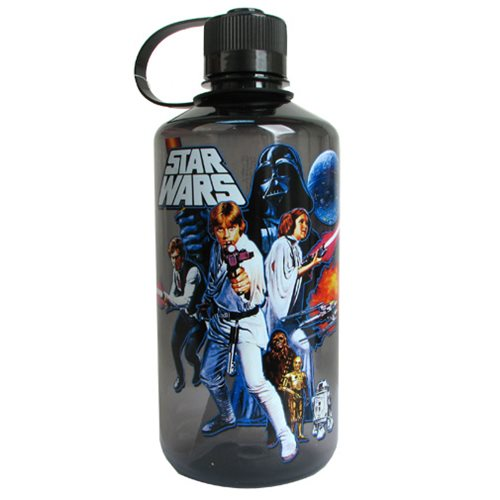 Star Wars A New Hope 32 oz. Plastic Water Bottle