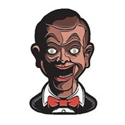 Goosebumps Living Dummy Pin