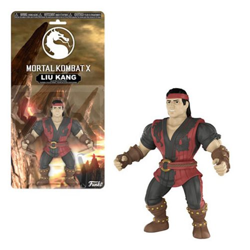 Mortal Kombat Liu Kang Action Figure, Not Mint