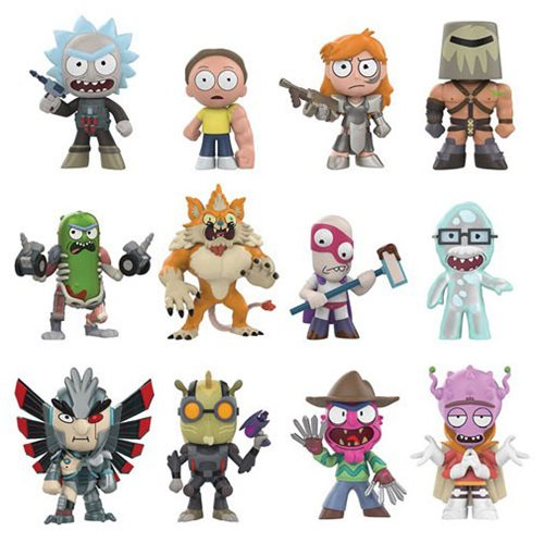 Rick and Morty Series 2 Mystery Minis Random 4-Pack