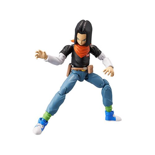 Dragon Ball Stars Android 17 Action Figure