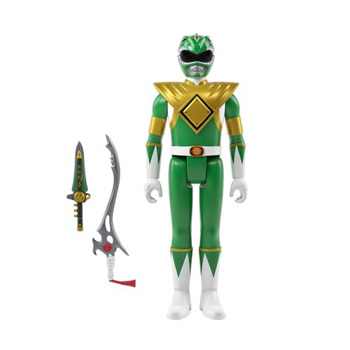 Mighty Morphin Power Rangers Green Ranger 3 3/4-Inch ReAction Figure