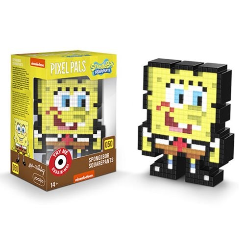Pixel Pals SpongeBob Collectible Lighted Figure