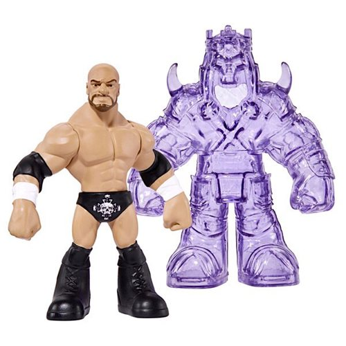 WWE Beast Mode Mini-Figure Random 3-Pack