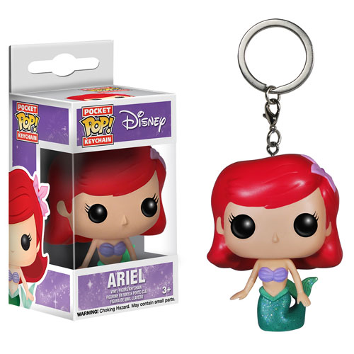 The Little Mermaid Ariel Pop! Vinyl Figure Key Chain