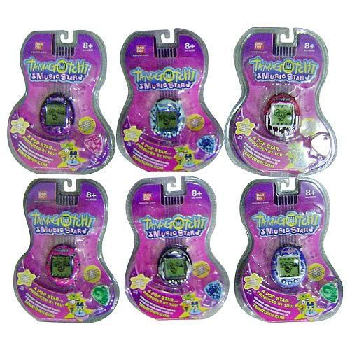 Tamagotchi Music Star Assortment Wave 1 Set