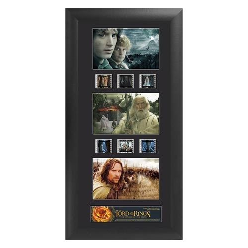 The Lord of the Rings Return of the King Series 1 Trio FilmCell