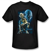 Lord of the Rings Smeagol Black T-Shirt