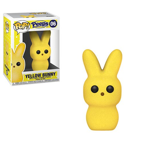 Peeps Yellow Bunny Pop! Vinyl Figure #06