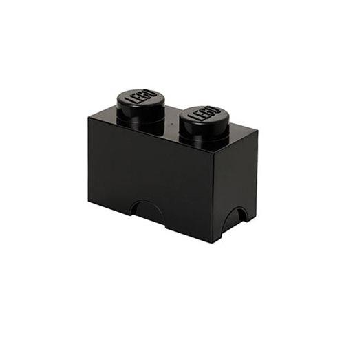 LEGO Black Storage Brick 2