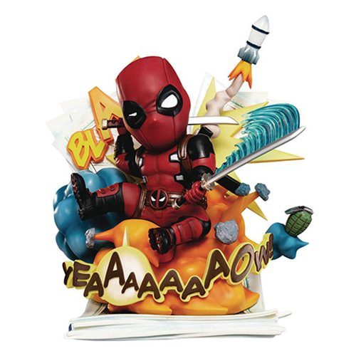 Marvel Deadpool Cut Off The Fourth Wall  EA-039 Statue - Previews Exclusive