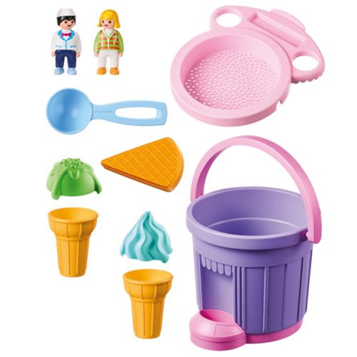 Playmobil 9406 Sand Ice Cream Shop Sand Bucket